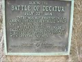 Image for During the Battle of Decatur-UDC-DeKalb Co