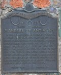 Image for Pioneers of Antimony