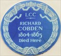 Image for Richard Cobden - Suffolk Street, London, UK