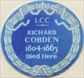 Image for Richard Cobden - Suffolk Street, London, UK