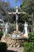 Image for Mission Garden Crucifix -- Mission San Gabriel Archangel, San Gabriel CA