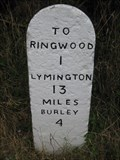 Image for Moortown Lane Milestone - Ringwood, Hampshire, UK