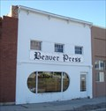 Image for The Beaver Press - Beaver, Utah