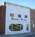 Image for The Beaver Press - Beaver, Utah