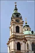 Image for Zvonice chrámu Sv. Mikuláše / Belfry of St. Nicolas' Church (Prague)