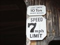 Image for 7mph through the covered bridge in Frankenmuth, MI