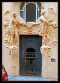 Image for The Doorway of the House No.9, Široká street, Prague, Czech Republic