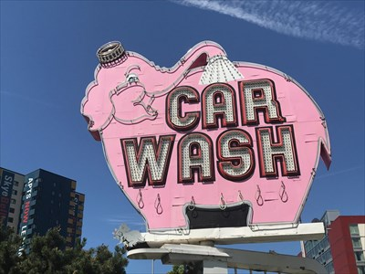 Car Wash Side, Seattle, Washington
