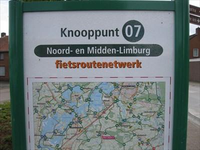 07 - Montfort, NL - Fietsroutenetwerk Midden-Limburg