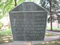 Image for Indian Trail Marker - Wilmette, IL
