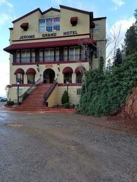 Jerome Grand Hotel One Of The Most Haunted Buildings In Arizona News Article Locations On Waymarking Com