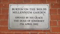 Image for Millennium Garden - Burton on the Wolds, Leicestershire