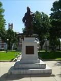 Image for Statue of Chief Mahaska - Oskaloosa, Ia.