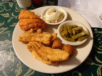 QDV's recent catfish meal