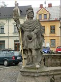 Image for The statues beside the Holy Trinity Column - Zakupy, Czech Republic