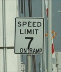 Image for Speed Limit 7mph -- Boliver Ferry Landing, Bolivar Point TX