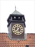 Image for Uhr am ehemaliegen Rathaus von Sasel - Hamburg, Germany