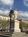 Image for La statue de Napoléon - Bastia - France