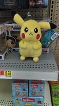 Image for Pikachu Plush - Walmart - Galveston, TX