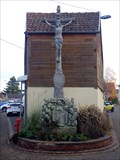 Image for Cross at crossroads, Eguisheim, Haut-Rhin/FR