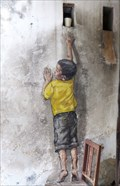 Image for 'Reaching Up' Mural - George Town, Penang Island, Malaysia.