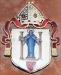 Image for Arms of the see of Sodor and Man - St. Mary de Ballaugh Kneale Memorial - Ballaugh, Isle of Man