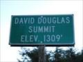 Image for David Douglas Summit - Elsie Oregon - 1309'