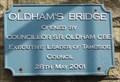 Image for Oldham's Bridge On The Huddersfield Narrow Canal – Stalybridge, Tameside, UK