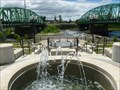 Image for Great River Project Cascading Fountains - Westfield, MA