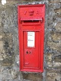 Image for Victorian Wall Post Box - Sedbusk near Hawes, Yorkshire, UK