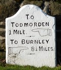 Image for Milestone - Burnley Road, Lydgate, Yorkshire, UK.