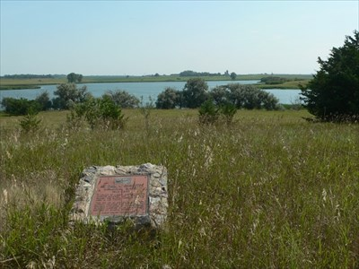 Errington Memorial Marsh Historic Marker in SD