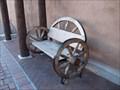 Image for Wagon Wheel Bench - Albuquerque, New Mexico