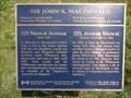 Image for Sir John A. Macdonald - Kingston, ON