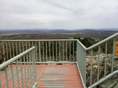 Some of the view from the Lookout. 1744, Sunday, 30 December, 2018