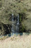 Image for Prince of Wales Quarry waterfall - Tintagel, Cornwall