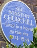 Image for Winston Churchill - Sussex Square, London, UK