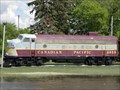 Image for CP 4038 Locomotive - Minnedosa MB