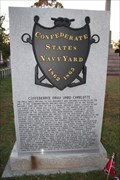 Image for The Confederate Navy Yard --Elmwood Cemetery Charlotte NC