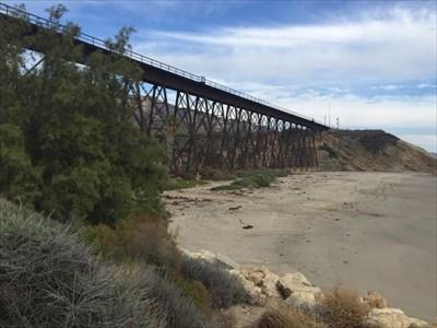 Trestle Behind Beach, Goleta, California