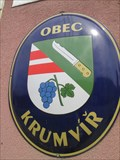 Image for Znak obce - Krumvir, Czech Republic