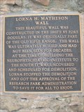 Image for Lorna H. Matheson Wall - Salt Lake City, UT