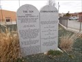 Image for Ten Commandments - Good to Go Creationist Display - Woodward, OK