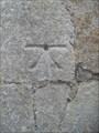 Image for Cut Bench Mark with Rivet - Church of St. John, Church Road, Terrington St. John, Norfolk. PE14 7RZ