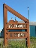 Image for Thyborøn Velkomst skilt - Thyborøn, Danmark