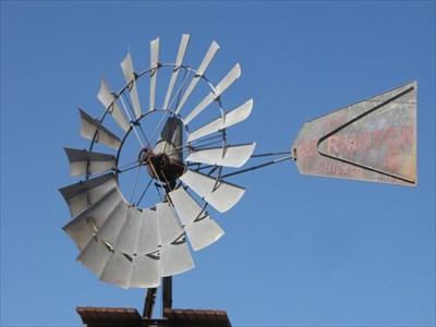 Windmill Blades, Rakstad Road Windmill at McKean Road in San Jose, CA