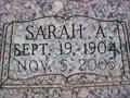 Image for 101- Sarah A. Spigener - Arcadia, OK