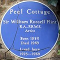 Image for Sir William Russell Flint - Peel Street, London, UK