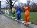 Image for Buddy Bears @ olympic stadium - Berlin, Germany