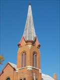 Image for NJ0869 - First Congregational Church Spire - Platteville, WI